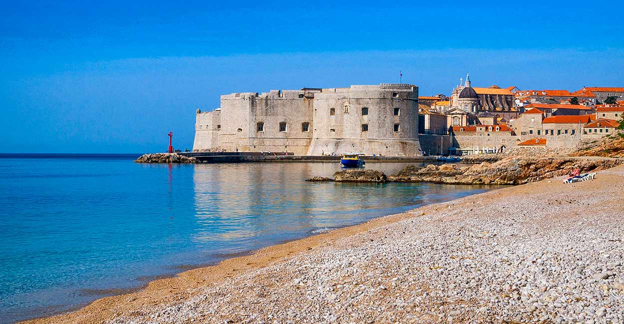 Banje, la playa pública más importante de Dubrovnik - Image by Ivan Ivankovic from Pixabay