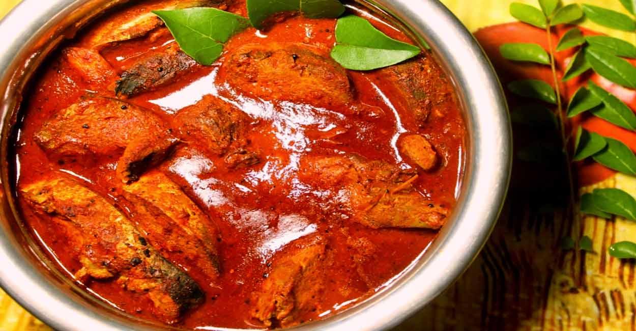 Kerala fish curry - QUÉ HACER Y VER EN EL SUR DE INDIA
