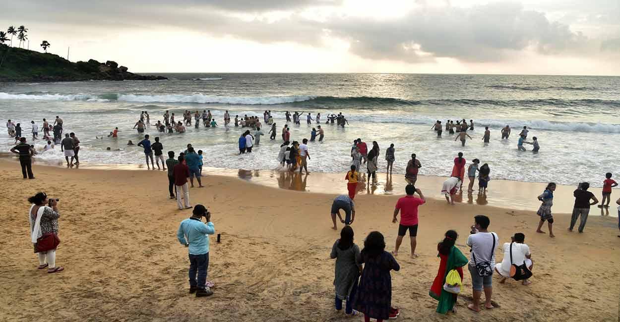 Playa de Kovalam - QUÉ HACER Y VER EN EL SUR DE INDIA