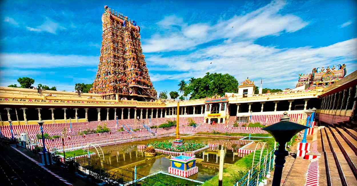 templo de Meenakshi, en Madurai