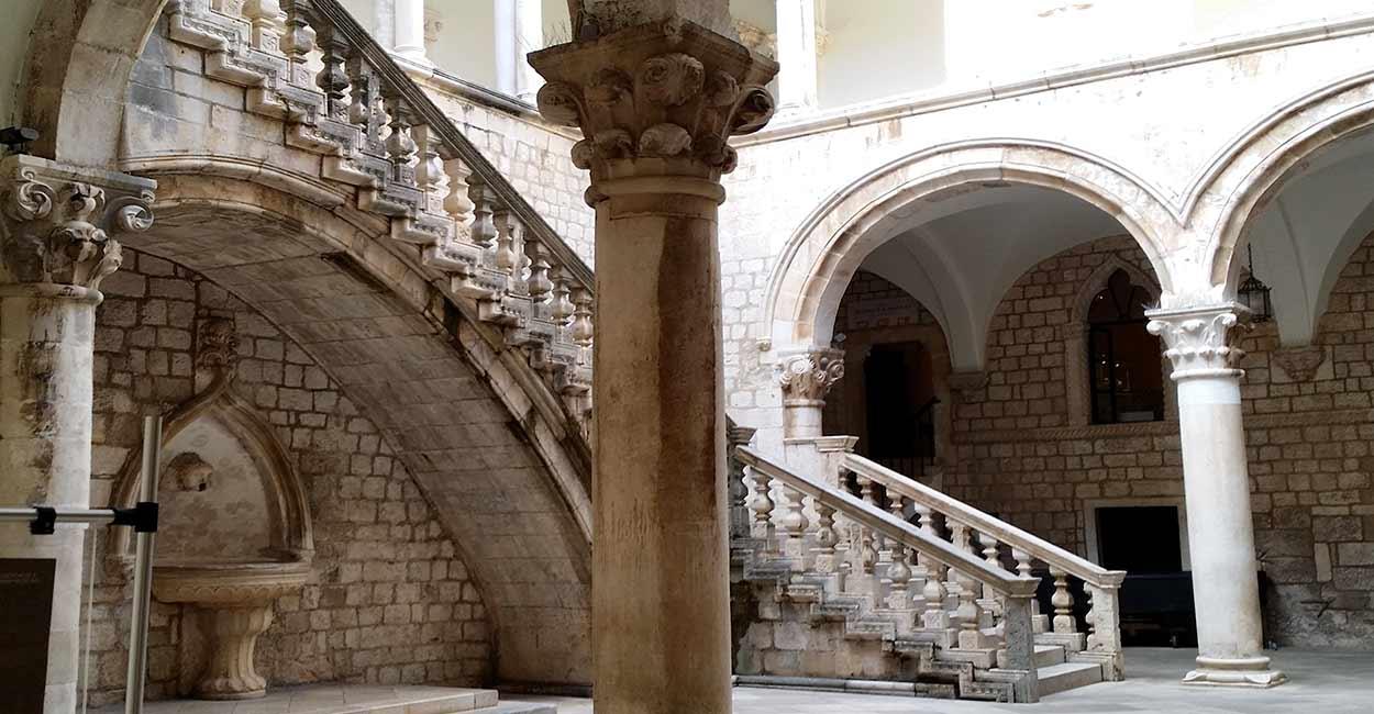Palazio de Rector, en Dubrovnik