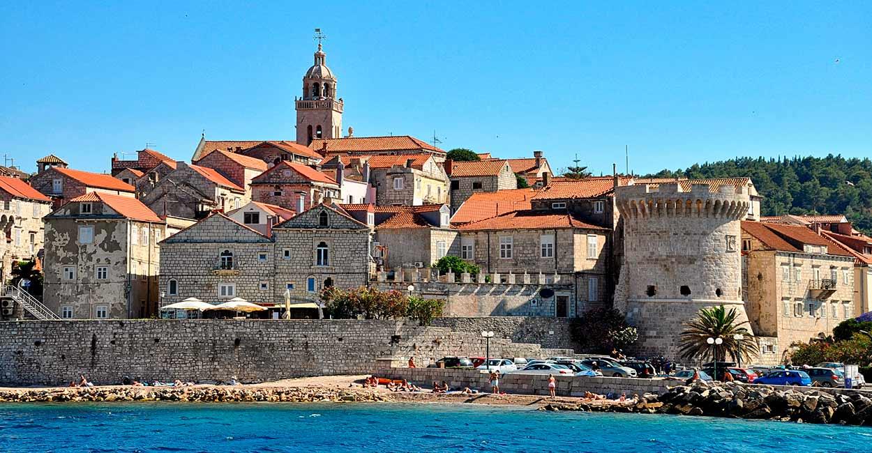 Korcula, una de las ciudades medievales mejor conservadas del Mediterráneo