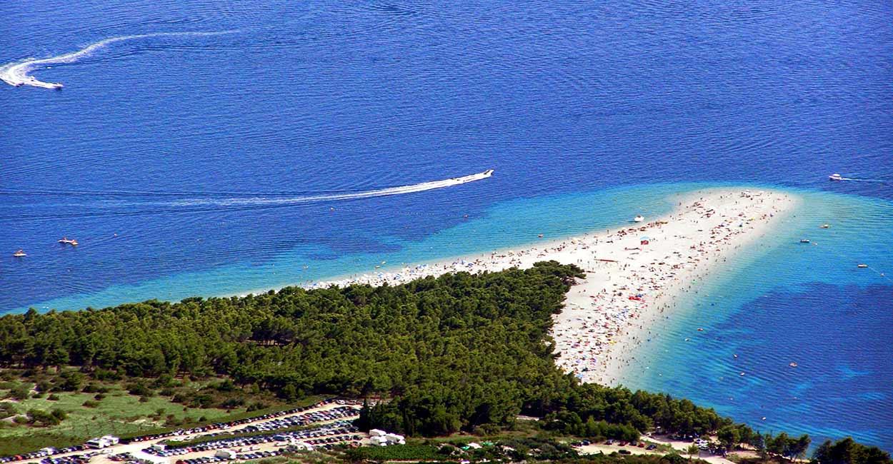 Cuerno de Oro - File:Plaza-zlatni-rat-brac.jpg - Islas de Croacia: las mejores cinco