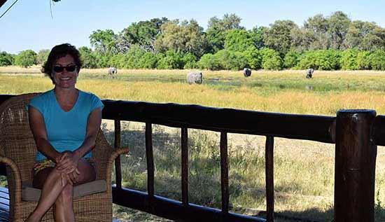 Opinión de Viaje a Botswana y Cataratas Victoria: Carmen en el Khwai River Lodge