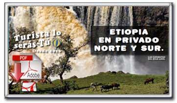 Descargar folleto pdf de nuestra oferta Etiopia Norte y Sur en privado