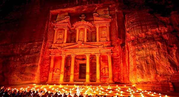 Opinión de Viaje a Jordania en privado y hoteles de lujo: Petra by night