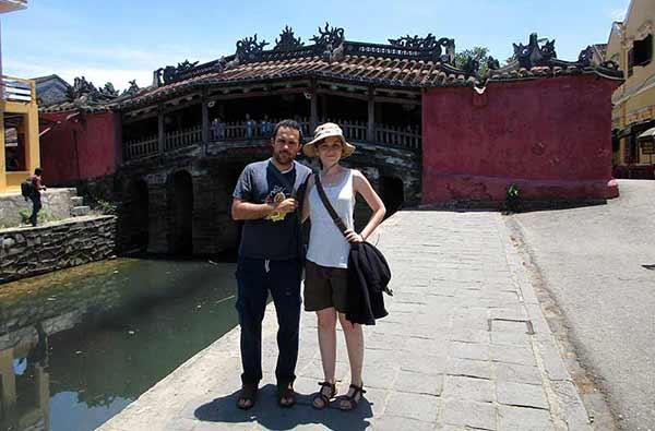 Opinión del Viaje a Vietnam: Celia y Gonzalo en Hoi An