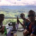 Con el guía de Nepal