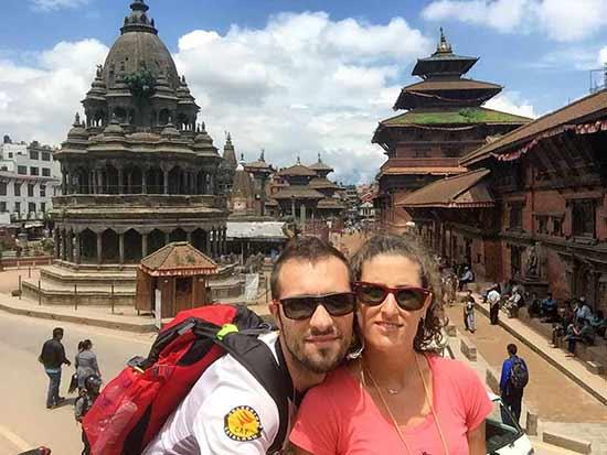 Opinión del Viaje a Nepal y Bután de Sergi y Desire: en Katmandú