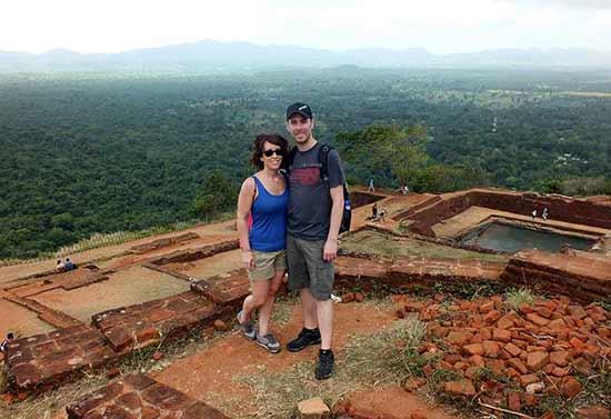 Opinión de Viaje de Novios a Sri Lanka: Saioa y Rafa en la cima de Sigiriya