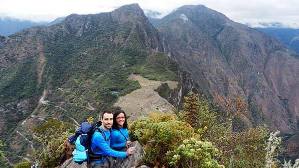 Opinión de Viaje a Perú de Lorena y Álvaro: en Huayna Picchu
