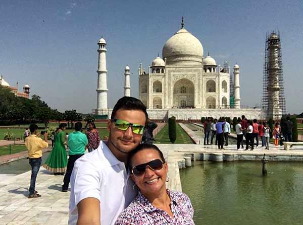 Opinión de Viaje a India en privado de Óscar, Claudia, Olga y Alejandro: Taj Mahal (Agra)