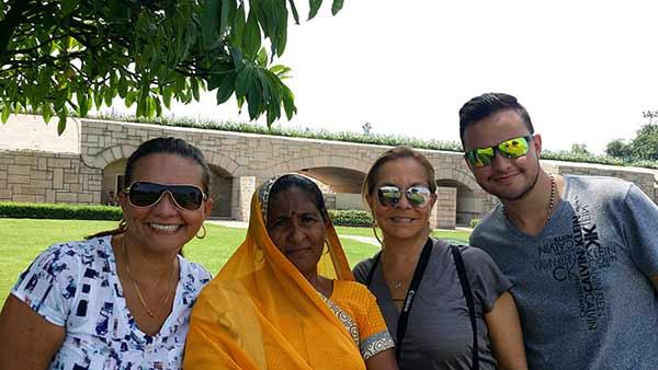 India fue una experiencia única...