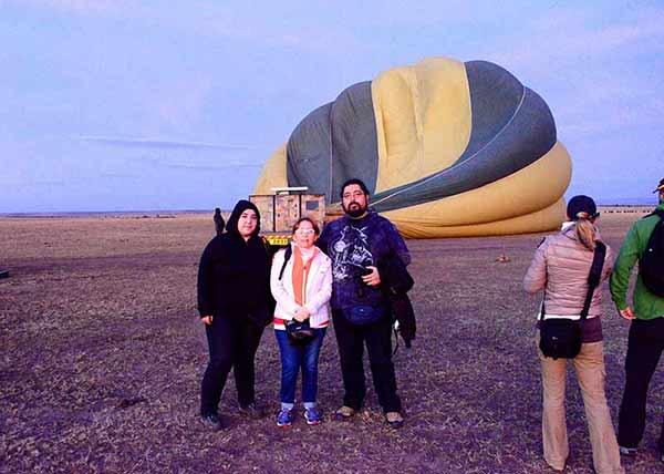 Opinión del Safari en Kenia de Loreto, Pamela y Felipe: excursión en globo aerostático en Masai Mara