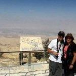 Daniela y Juan en Monte Nebo