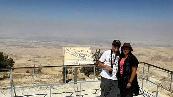 Opinión de un Viaje en privado a Jordania de Daniela y Juan: Monte Nebo