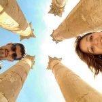 Daniela y Juan en Jerash