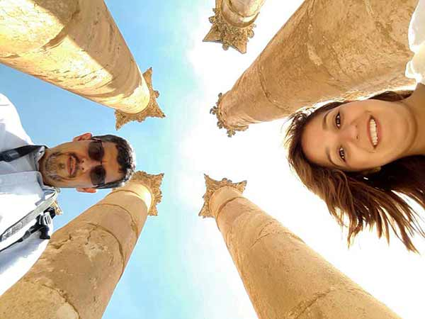Opinión de un Viaje en privado a Jordania de Daniela y Juan: Jerash