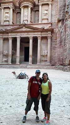 Opinión de un Viaje en privado a Jordania de Daniela y Juan: Petra