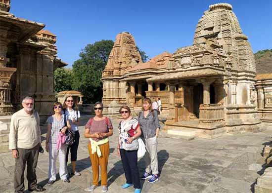 Experiencian del Viaje a India en privado de Ricardo, Teresa, Rosario, María José, Isaura e Isabel