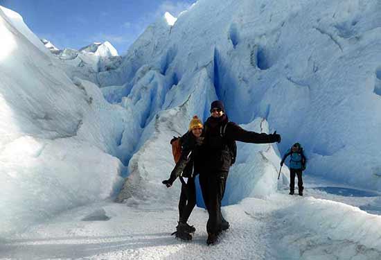 Opinión del Viaje de novios a Argentina y Rio de Janeiro de Esther e Iván: trekking del Perito Moreno