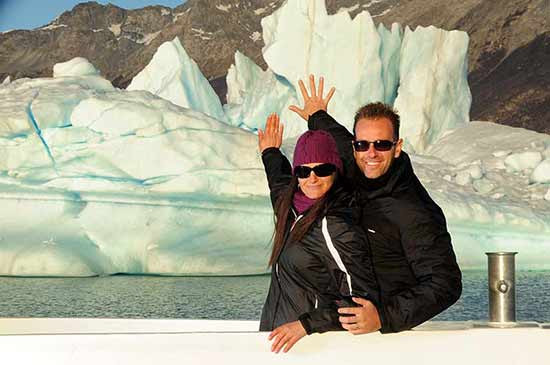 Opinión del Viaje de novios a Argentina y Rio de Janeiro de Esther e Iván: Navegación del Lago Argentino