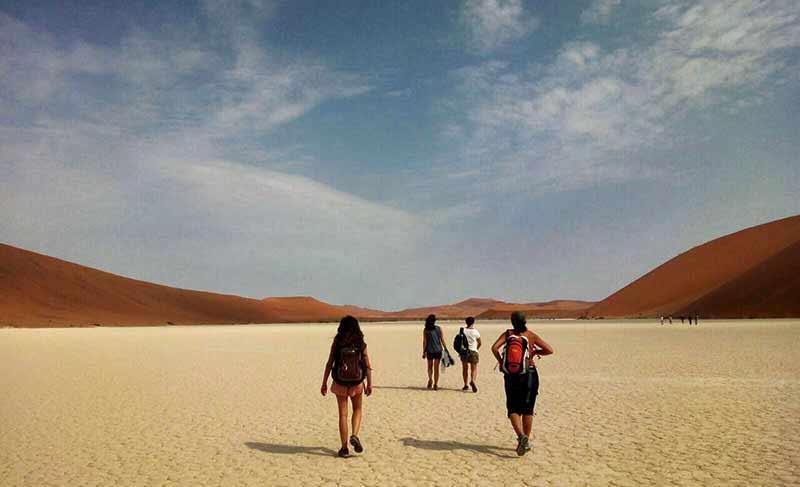 Tour de Namibia de Blanca, Ainhoa, Inés, Magdalena y Selatse 1