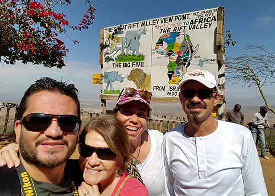 Testimonio del Safari en Kenia de Elsa, César, Diana y Eduar: The Great Rift Valley View Point