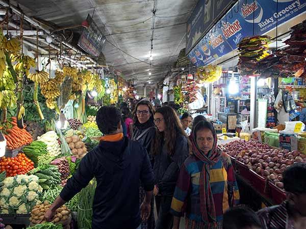 Opinión de Viaje a Sri Lanka y Maldivas de Javier y familia: en un mercado