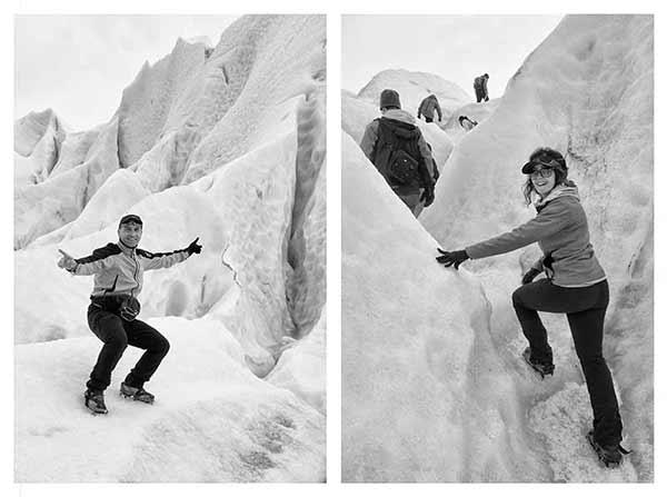 Opinión del Viaje de Novios a Argentina de Alfonso y Maria: trekking de glaciar Perito Moreno