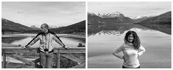 Opinión del Viaje de Novios a Argentina de Alfonso y Maria: en parque nacional Tierra del Fuego