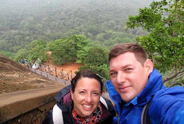 Opinión de Viaje a Sri Lanka de Nacho y Esther: subiendo a Sigiriya