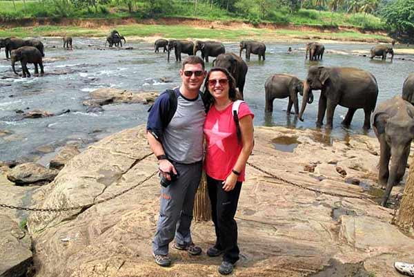 Opinión de Viaje a Sri Lanka de Nacho y Esther: en orfanato de elefantes de Pinawalla