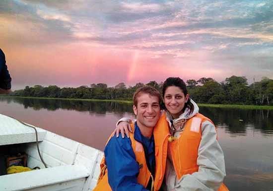 Testimonio de viaje a Perú de Laura y Víctor: en la Reserva nacional Pacaya Samiria.