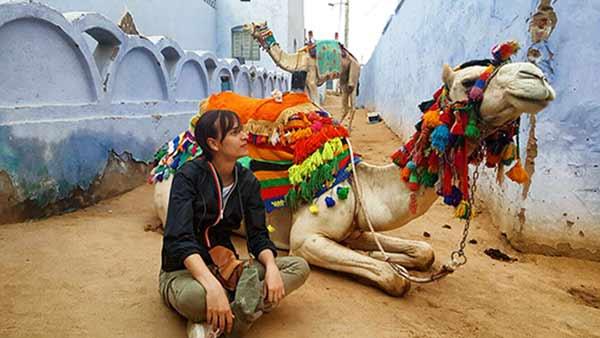 Opinión de Viaje a Egipto de Graciela y familia: en el Pueblo Nubio, en Asuán