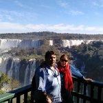 las cataratas de Iguazú (lado brasileño)