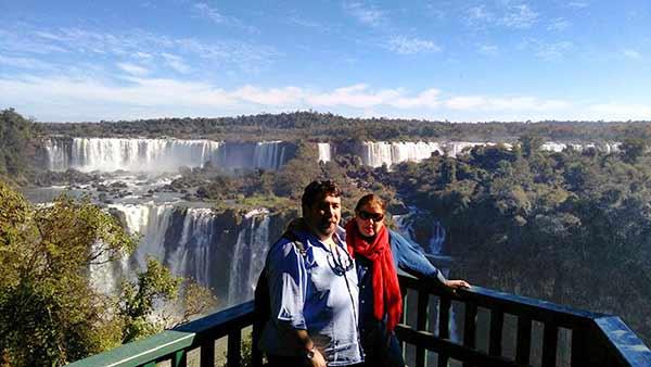 Testimonio de Viaje a Argentina de Mari Cruz y Fernando: las cataratas de Iguazú (lado brasileño)