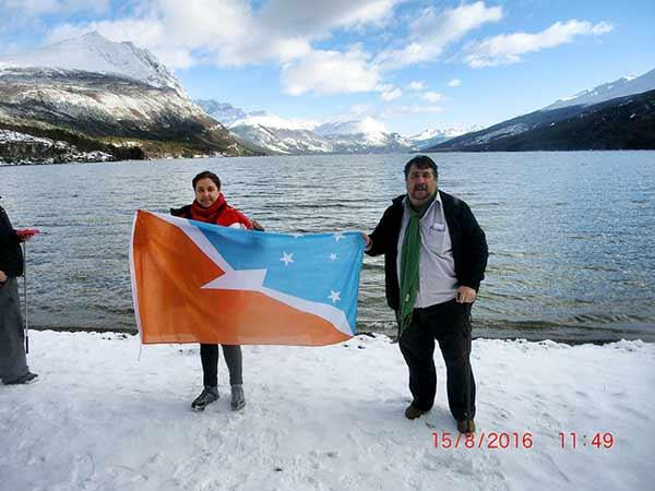 Testimonio de Viaje a Argentina de Mari Cruz y Fernando: en Ushuaia (Bahía Ensenada)