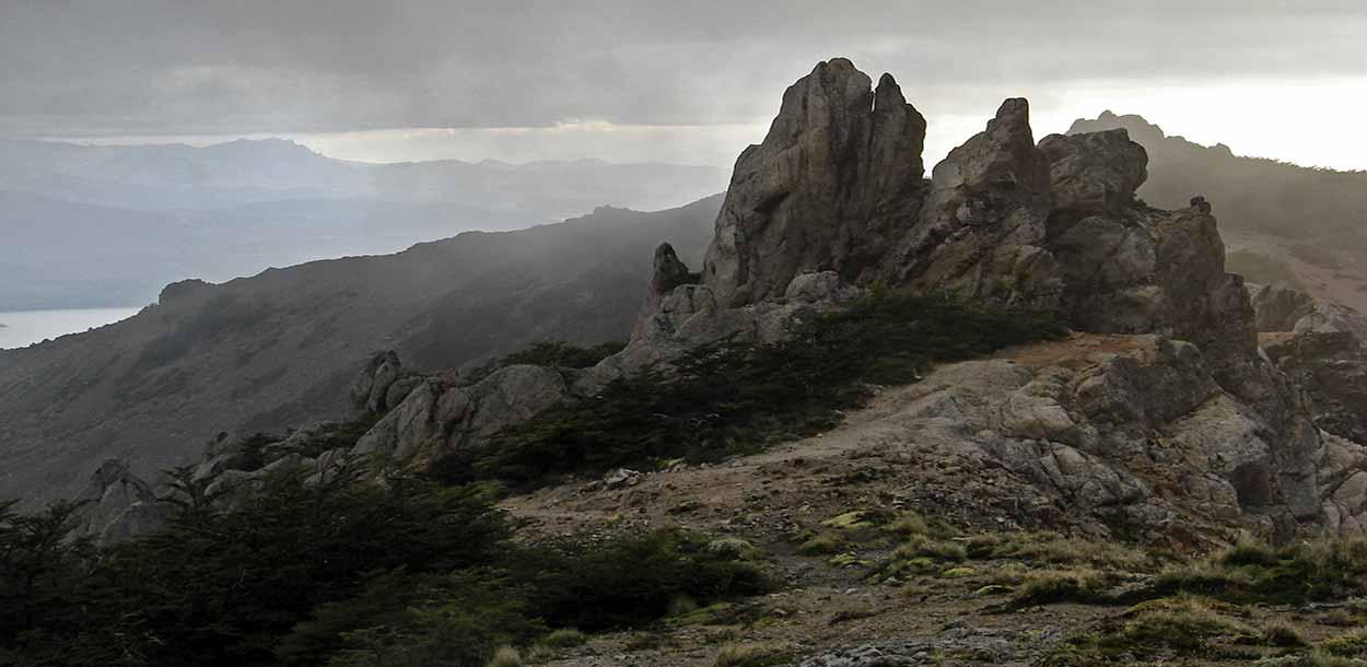 La cima del monte Bella Vista - Qué hacer en Bariloche