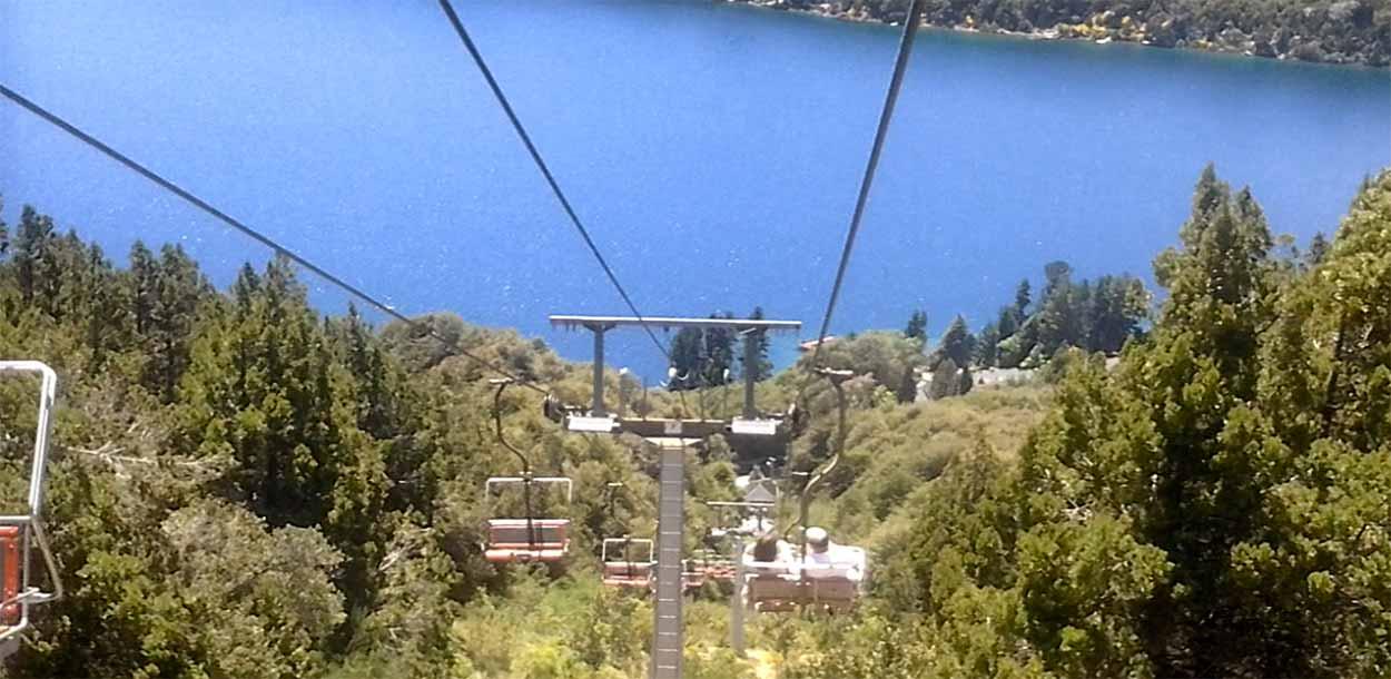 Aerosilla de Cerro Campanario - Qué hacer en Bariloche