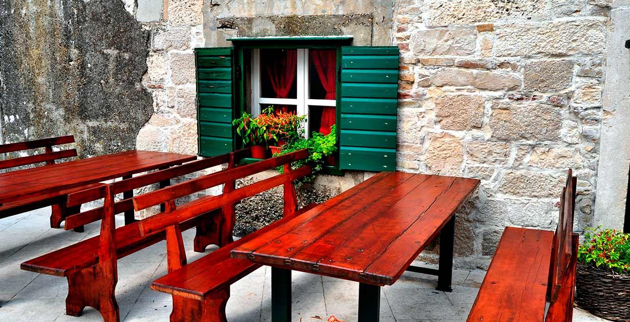 qué comer en Dalmacia - una Konoba