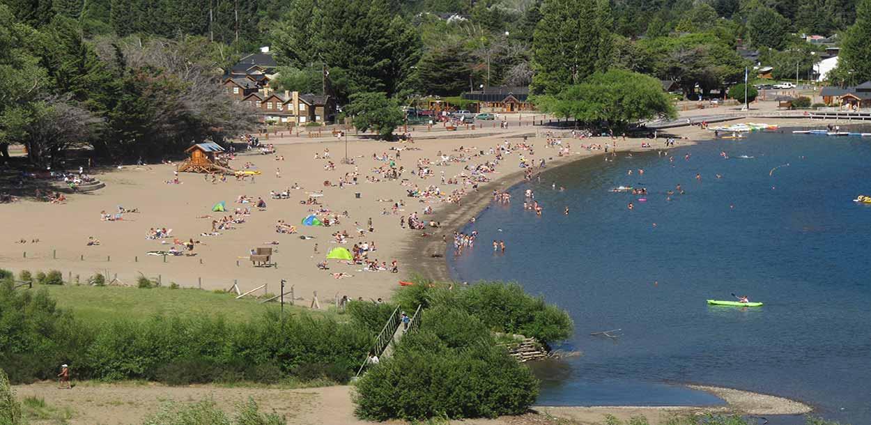 San Martín de los Andes (playa en la orilla del lago Lácar) - Qué hacer en Bariloche