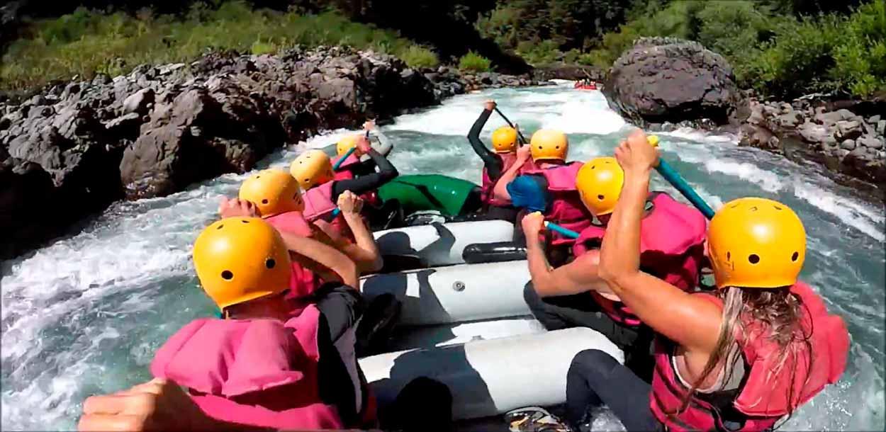 Rafting en Río Manso - Lago Cholila Adventure