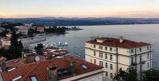 Opinión de Viaje a Croacia de Belén y Miguel Ángel: vista panorámica de Opatija