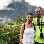 Marta y Asier en Polinesia Francesa