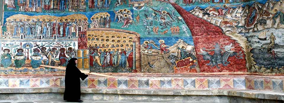 las iglesias pintadas Bucovina