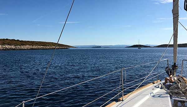 Testimonio de Viaje a Croacia de Rosa y familia: en su velero alquilado, navegando el Adriático