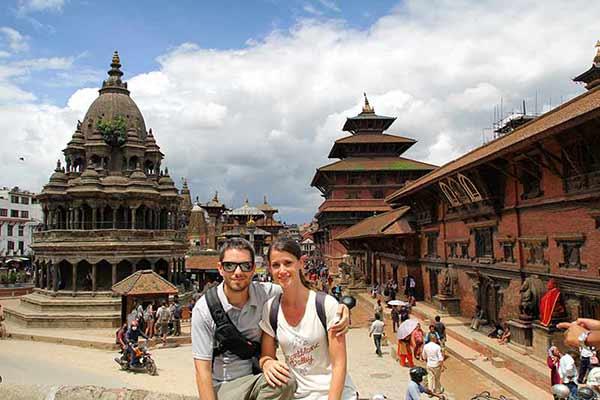 Opinión de viaje a India y Nepal de Marta y Daniel: en la plaza Durbar, Katmandú