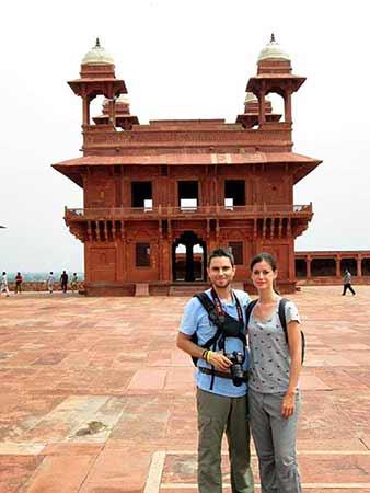 Opinión de viaje a India y Nepal de Marta y Daniel: ciudad fantasma de Fatehpur Sikkri