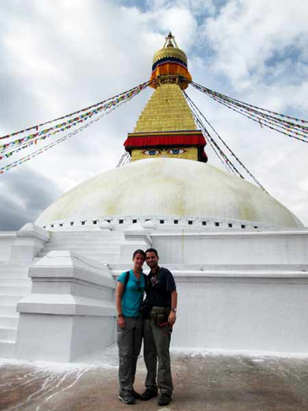 Estupa budista de Boudhanath (Katmandú)